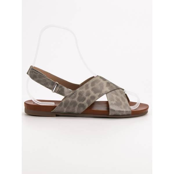 KYLIE дамски ниски ежедневни сандали