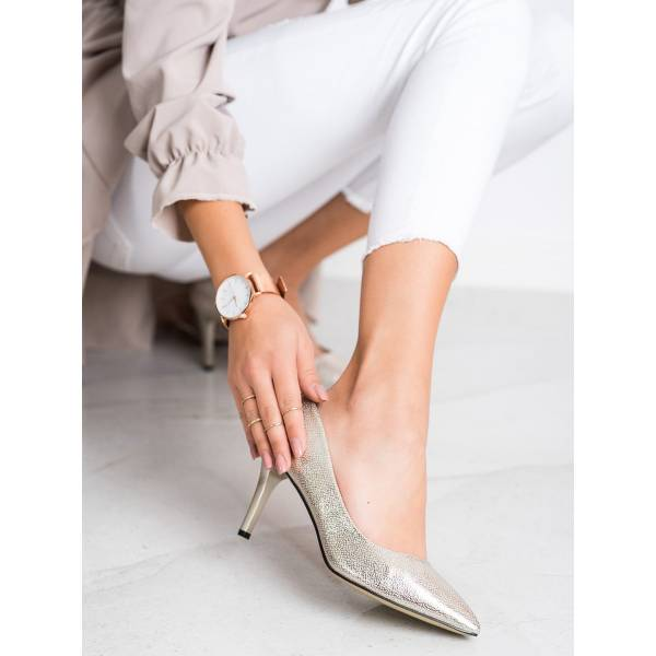 GOODIN дамски ежедневни обувки с висок ток