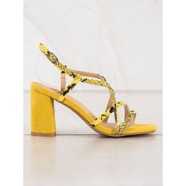 KYLIE дамски елегантни сандали с висок ток