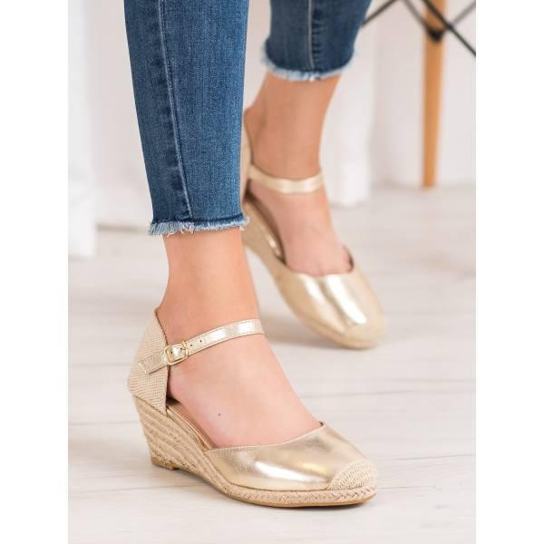 SMALL SWAN дамски обувки с ниска платформа