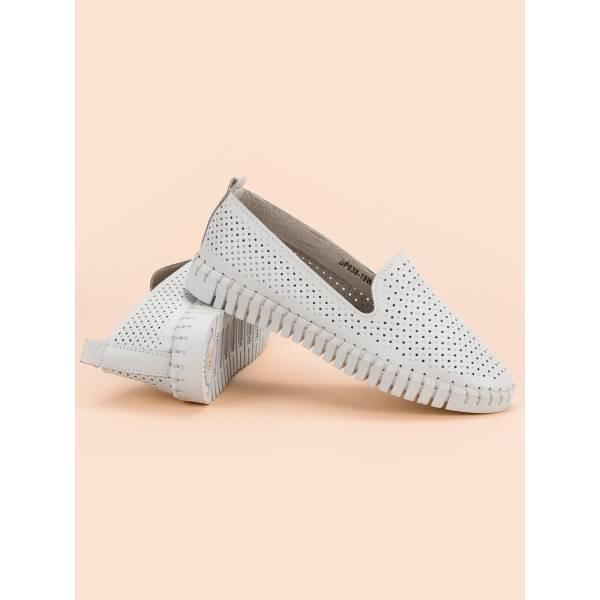 FILIPPO дамски ниски обувки с перфорирана кожа