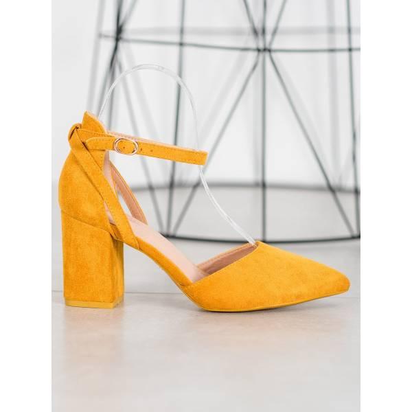 SEASTAR дамски велурени обувки с ток