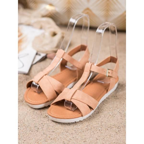SHELOVET дамски ниски ежедневни сандали