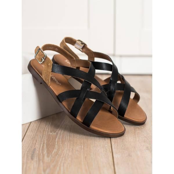 SERGIO LEONE дамски ниски сандали