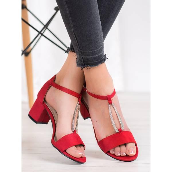 GOODIN дамски сандали с нисък ток
