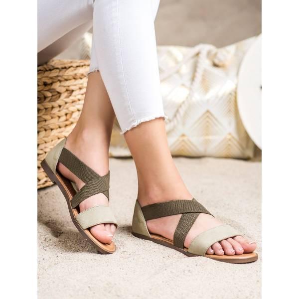 SERGIO LEONE дамски равни ежедневни сандали