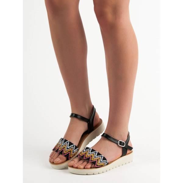 SHELOVET дамски сандали с ниска платформа
