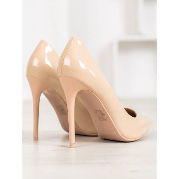 SMALL SWAN дамски стилни обувки с висок тънък ток