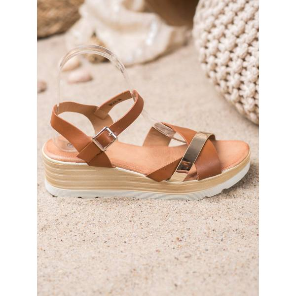 RENDA дамски сандали на платформа
