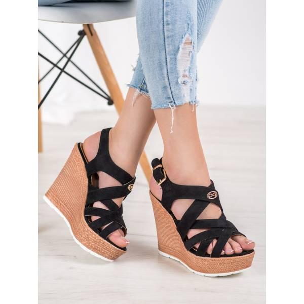 COMER дамски сандали на платформа