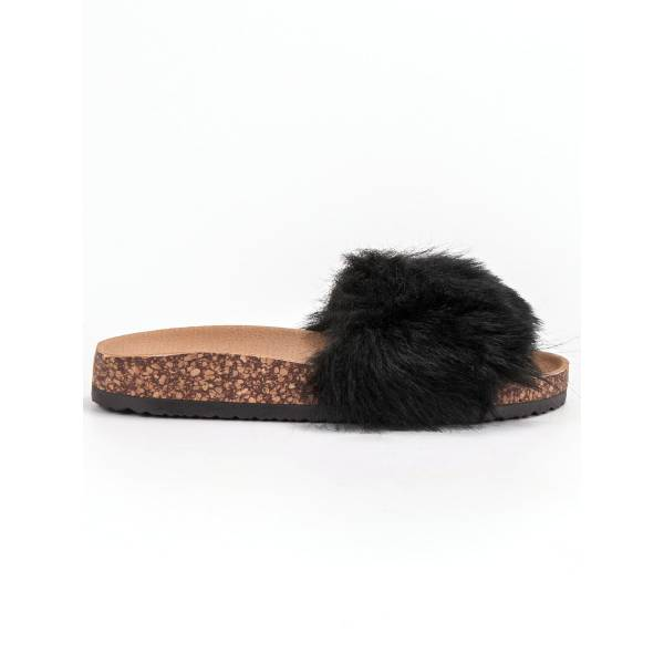 BONA дамски чехли с пух