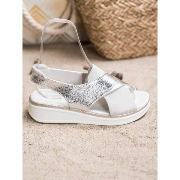 SERGIO LEONE дамски ниски ежедневни сандали