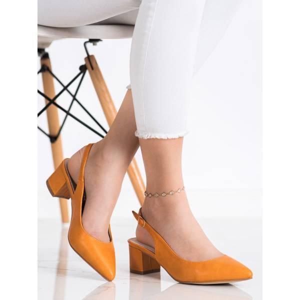 GOODIN дамски елегантни обувки на нисък ток