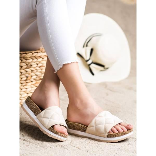 COMER дамски чехли на платформа
