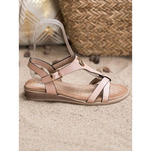 S. BARSKI дамски ниски ежедневни сандали