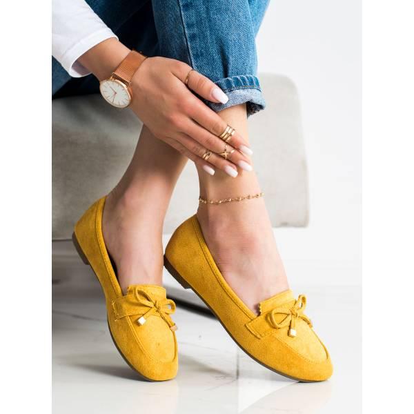 ANESIA PARIS дамски ниски обувки с панделка