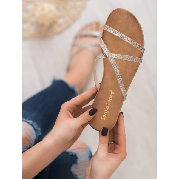 SERGIO LEONE дамски чехли