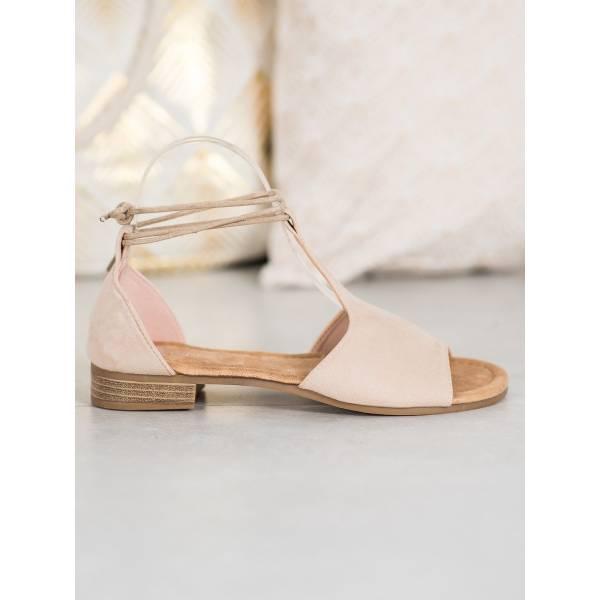 VINCEZA дамски сандали с равна подметка
