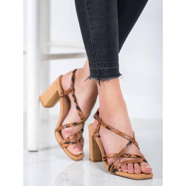 KYLIE дамски сандали с висок ток