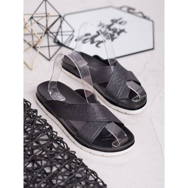 EMAKS дамски чехли с кръстосани каишки