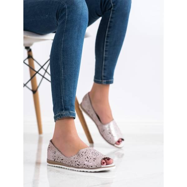 VINCEZA дамски обувки с отворена пета