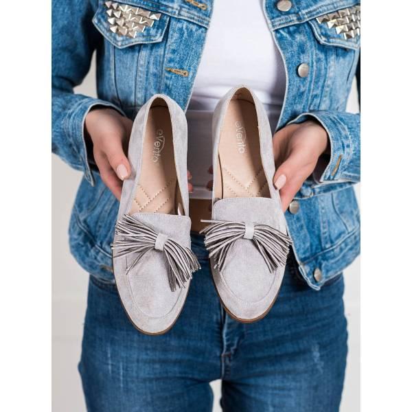 EVENTO дамски ниски обувки с панделка