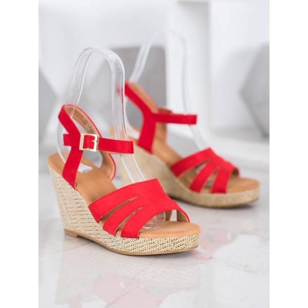 SMALL SWAN дамски сандали на платформа