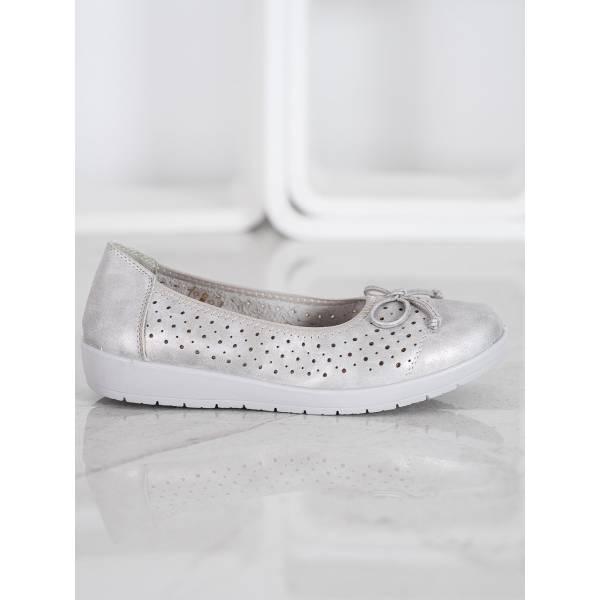 SHELOVET дамски ниски обувки с панделка