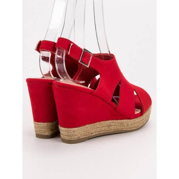 BEST SHOES дамски сандали на висока платформа