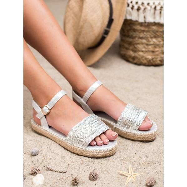 SMALL SWAN дамски ниски сандали