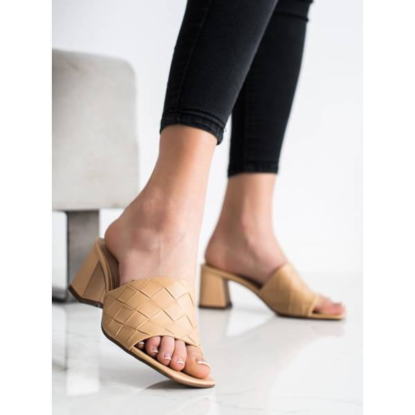 SHELOVET дамски чехли с ток
