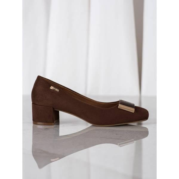SERGIO LEONE дамски елегантни обувки с нисък ток