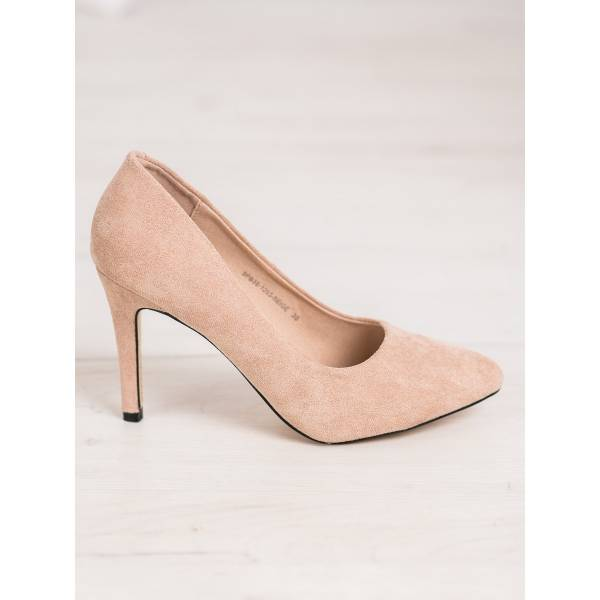 EVENTO дамски велурени обувки с ток