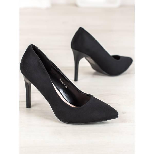 GOGO дамски стилни обувки с висок тънък ток