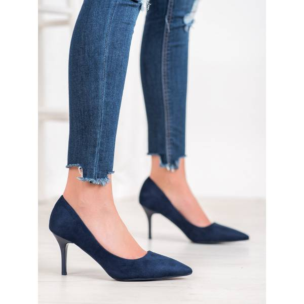 SMALL SWAN дамски ежедневни обувки с висок ток