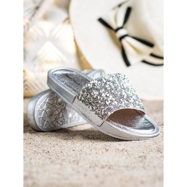 SMALL SWAN дамски чехли с модерен дизайн