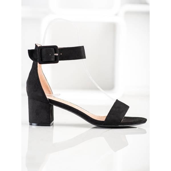 S. BARSKI дамски сандали на средно висок ток