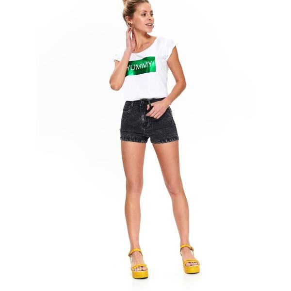 DRYWASH дамска тениска с апликация