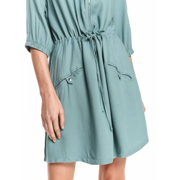 DRYWASH дамска къса рокля свободен силует