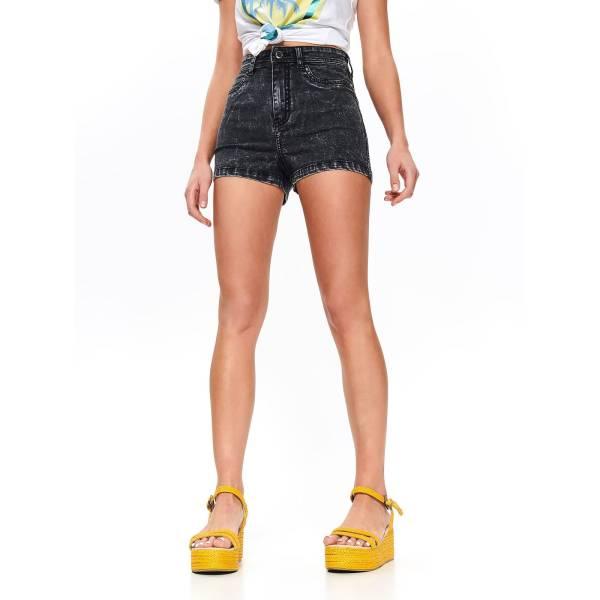 DRYWASH дамски къси панталони с висока талия