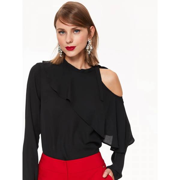 TOP SECRET дамска елегантна блуза с дълъг ръкав
