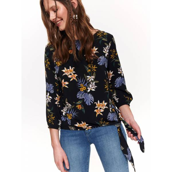 TOP SECRET дамска блуза с флорални мотиви