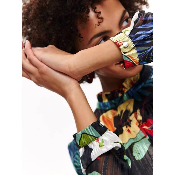 TOP SECRET дамска блуза с флорален десен