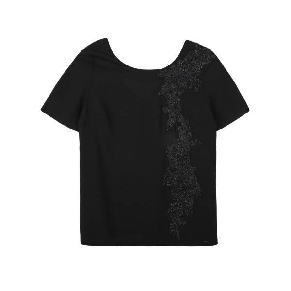 TOP SECRET дамска елегантна блуза с къс ръкав