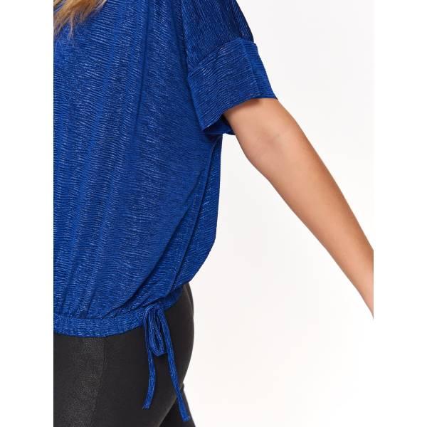 TOP SECRET дамска блуза с лъскав ефект