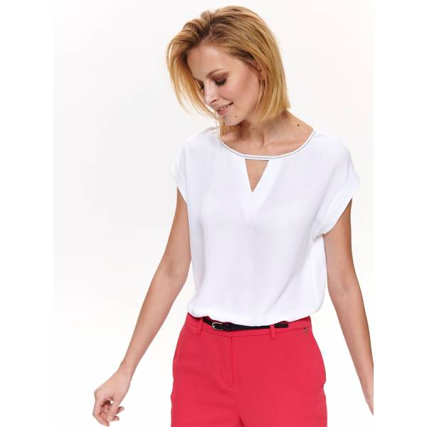 3c1292a6a88 Top Secret дамска блуза с къс ръкав - 032396