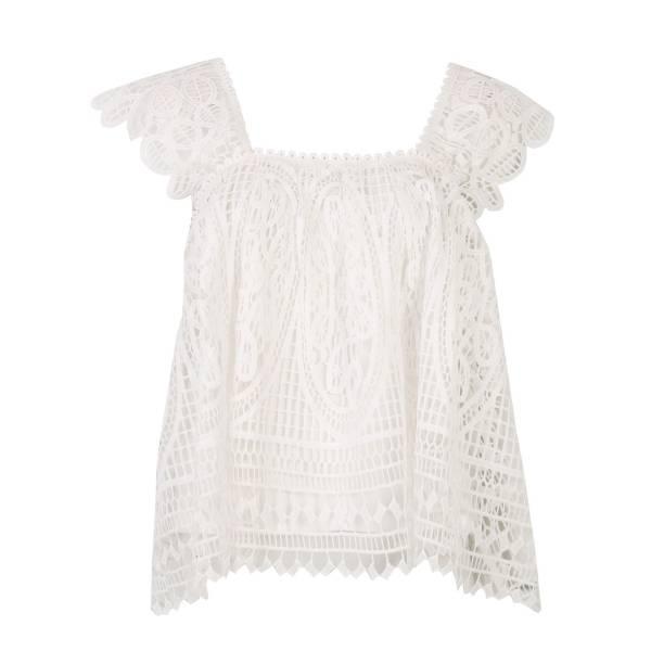 TOP SECRET дамска блуза с дантела