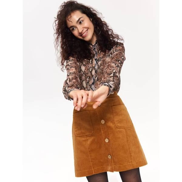 6ab1abc2ecd Top Secret дамска риза с животински принт - 025845