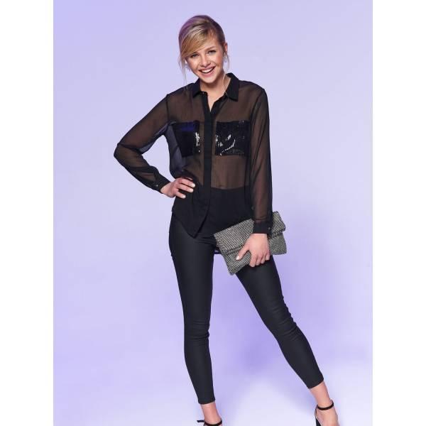 7b0dbd8bd24 Top Secret дамска риза с дълъг ръкав - 025026