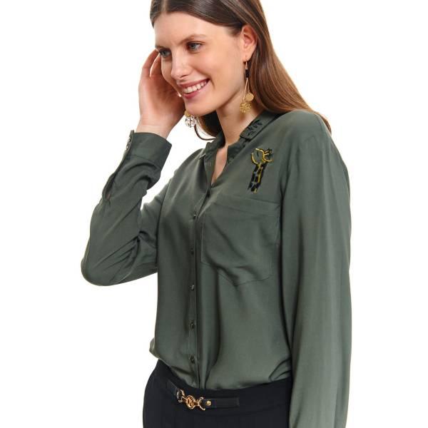 TOP SECRET дамска едноцветна риза с дълъг ръкав